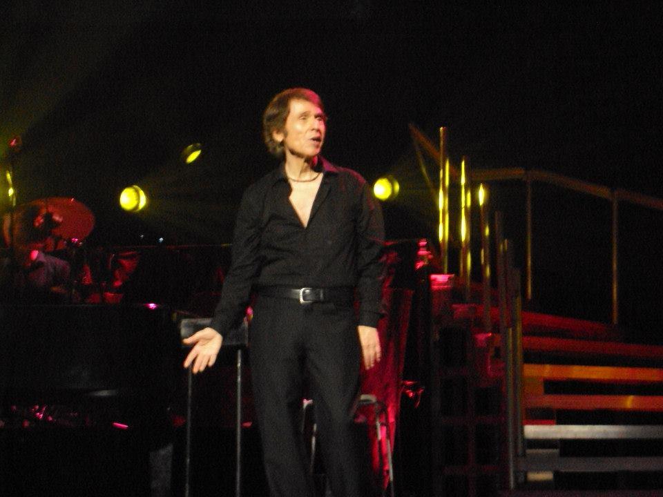 Un momento durante el concierto.